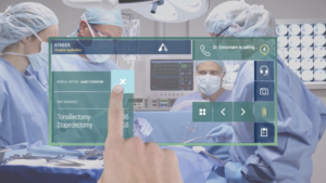 Digital Design - Atheer Air Medical Augmented Reality UI & UX
