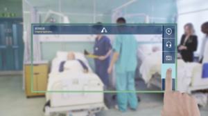 Atheer Air Medical Augmented Reality UI & UX