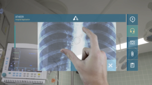 Atheer Air Medical Augmented Reality UI & UX