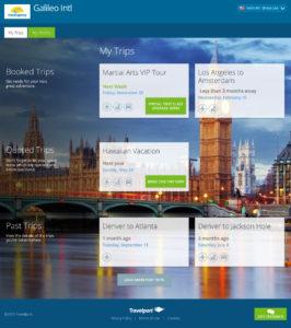 Travelport Responsive Web Application