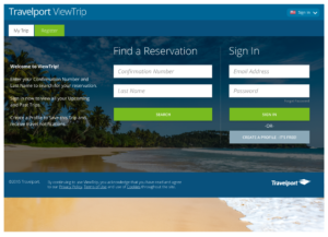 Travelport Responsive Web Application
