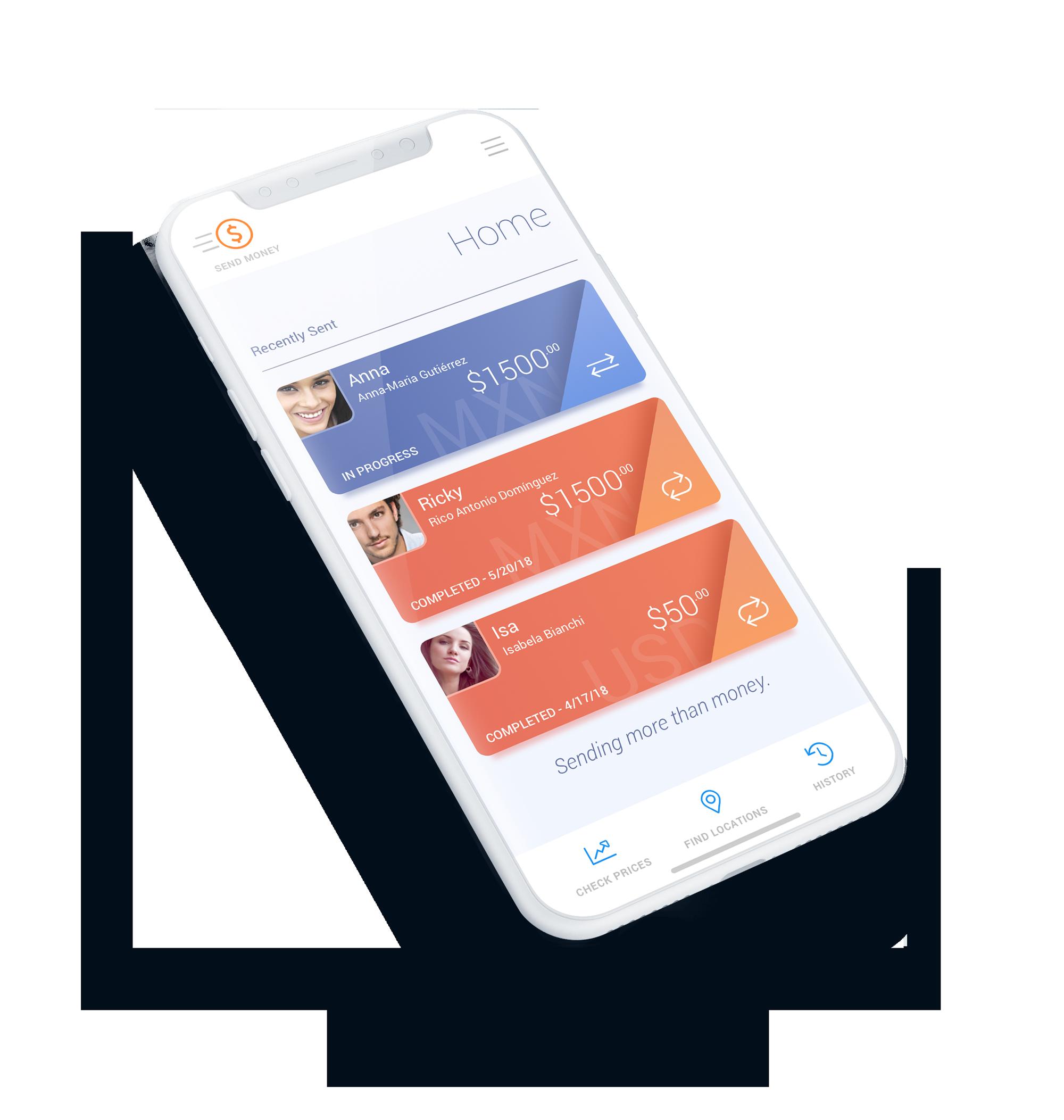 Ria – Money Transfer iOS App